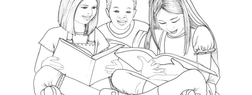 Disegno attività bambini da colorare